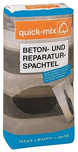 Betonspachtel Aussen mix profi betonspachtel reparaturspachtel 25 kg brs innen