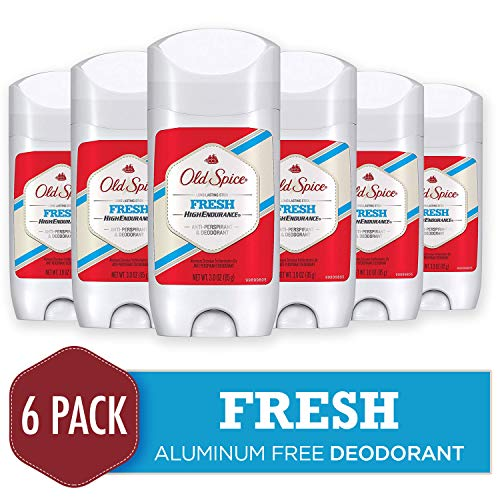 Old Spice Deodorant for Men, Long Lasting Fresh, High Endurance, Robust Greens Scent, 3 Oz (Pack of 6)