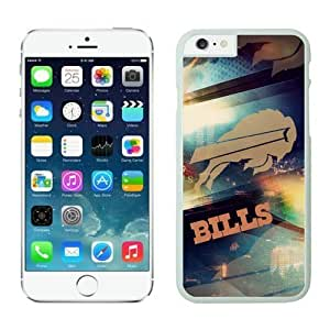 Buffalo Bills Case For iPhone 6 White 4.7 inches