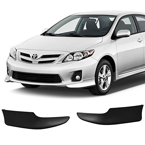 11 Toyota Corolla OE Style Polypropylene Front Bumper Lip Spoiler Splitter