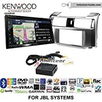 Volunteer Audio Kenwood Excelon DNX694S Double Din Radio Install Kit with GPS Navigation System Android Auto Apple CarPlay Fits 2010-2013 Toyota 4Runner with Amplified System