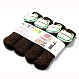 Staron 4Pcs Chair Leg Table Foot Covers Socks Furniture Sliders That Protect Hardwood Floors from Scratches and Reduce Noise Brown Animal Kint Cover Hot Chair Socks (B-Frog)