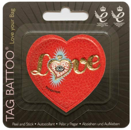 MastaPlasta Self-Adhesive Handbag Repair/Decoration Patch Love Spell 2¼ x2¼ Inch by MASTAPLASTA