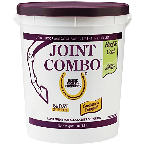 Horse Health Joint Combo Hoof & Coat, convenient 3-in-1 supplement for complete joint, hoof and coat care, 8 pound