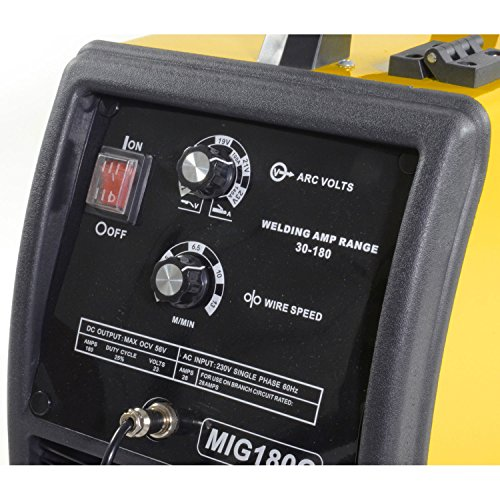 JEGS Performance Products 81541 MIG/MMA 180 Welder 220V AC by JEGS (Image #2)