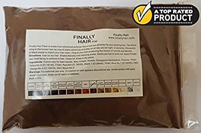 Hair Building Fibers 57 Grams. Highest Grade Refill That You Can Use for Your Bottles From Competitors Like Toppik®, Xfusion®, Miracle Hair®