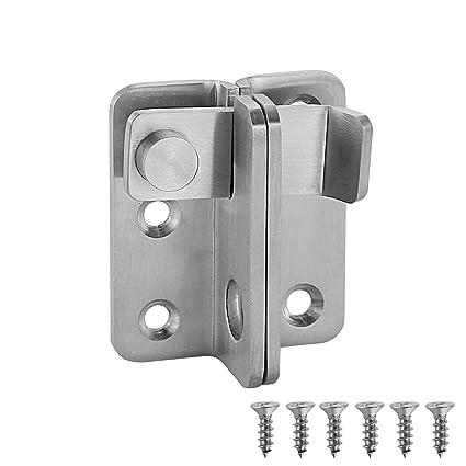 Amazon.com: JQK pestillo de puerta, grueso de acero ...