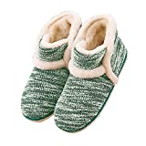 Winter Vintage Boot Slippers Arctic Solid Indoor Green 9 B(M) US