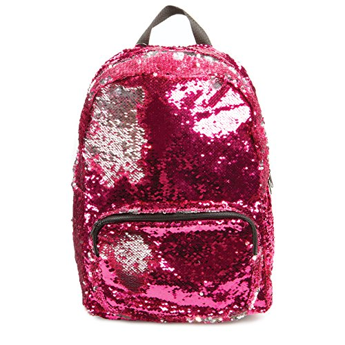 Style.Labs Magic Sequin Backpack, Pink/Silver (76464)