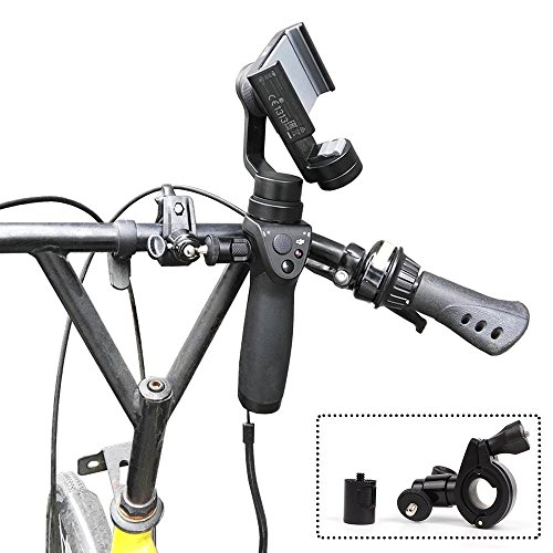 Joint Victory Gimbal Cam Bike Mount Bicycle Gear Holder Bracket Clamp Handheld Gimbal Camera Stabilizer for DJI OSMO/OSMO Plus/OSMO Mobile(Bike mount) by Joint Victory