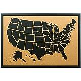Best Craig Frames - Craig Frames Wayfarer Cork Board, Illustrated United States Review