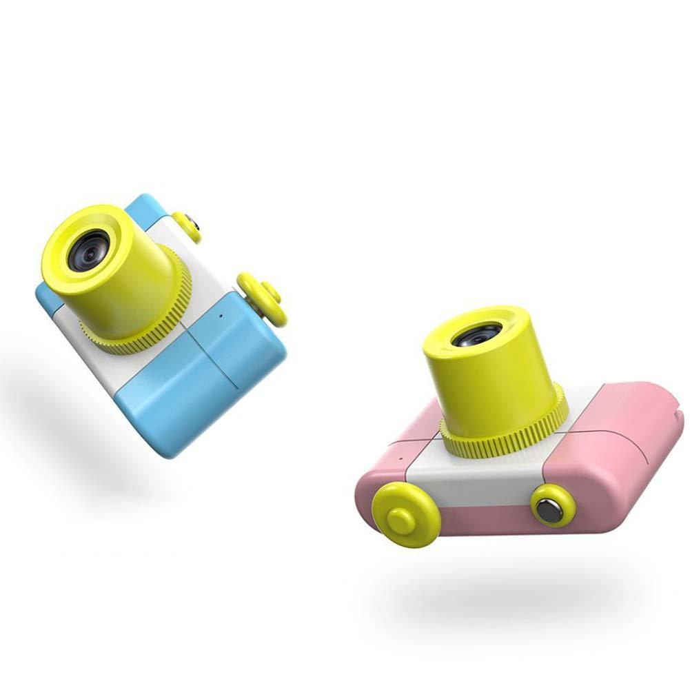 Yinpinxinmao 1.5 Inch 1080P Mini Cam Digital Camera 2MP Kids Toy Children Christmas Birthday Gift Pink