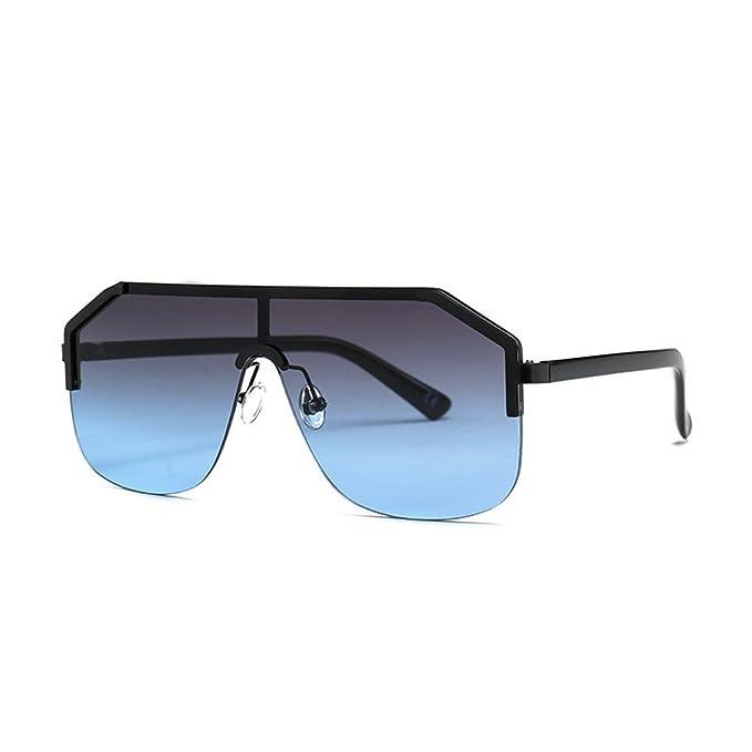 Amazon.com: Gafas de sol cuadradas unisex con marco grande ...