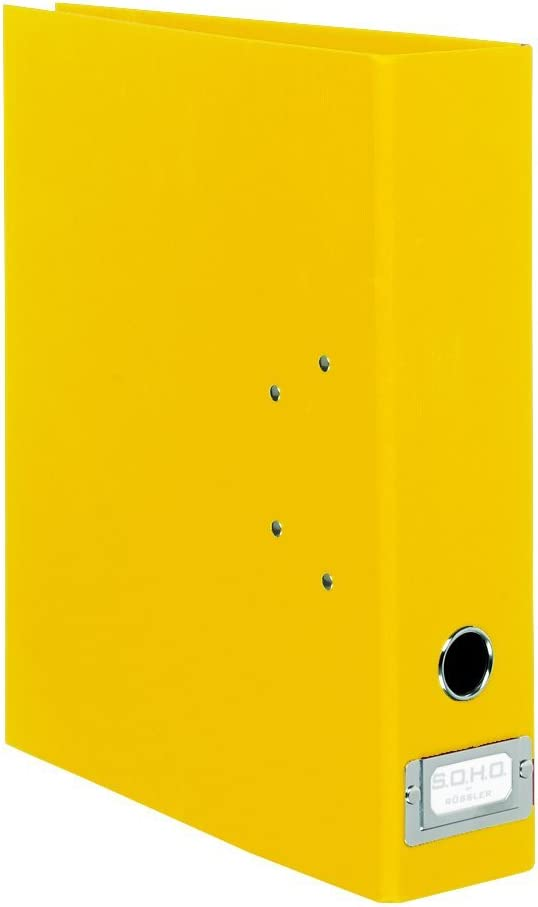 Classeur A4 Dos /étroit 5 cm Feuilles 2 perforations Noir S.O.H.O Import Allemagne R/össler 1317452701