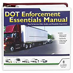 DOT Enforcement Essentials Manual - J. J...