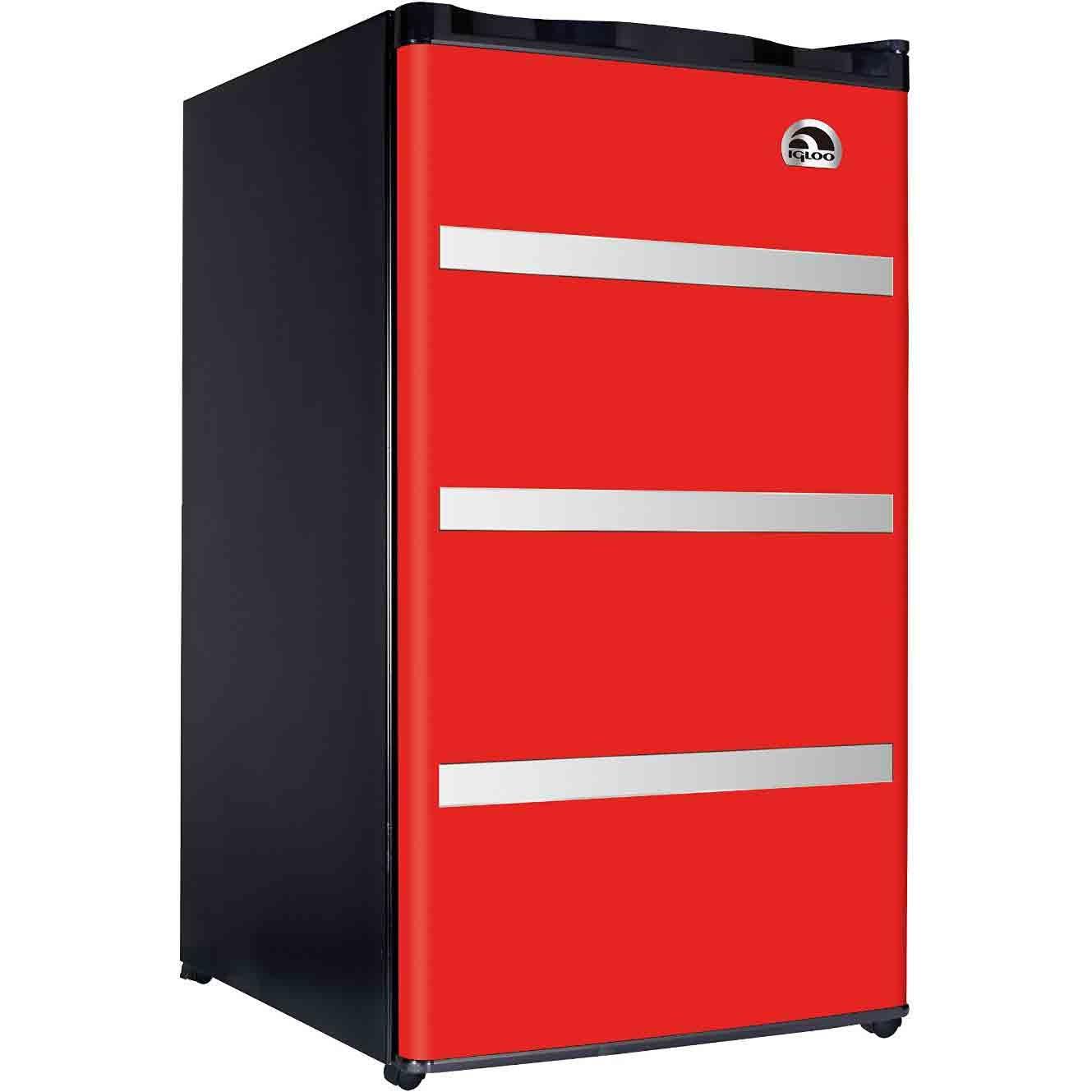 RFR329-Red Garage Fridge Tool Box, 3.2 Cubic Feet, Red by RCA