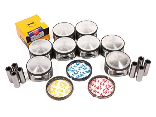NPR Pistons with Rings compatible Replacement for Dodge 5.7L 345ci Hemi 2003 04 05 RT Ram Durango.+.020
