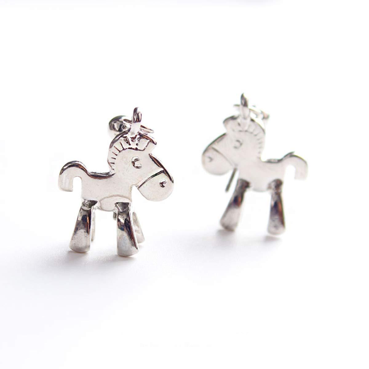 Libaraba Trojan Horse Stud Earrings with Jewelry Box,Trojan Horse Earrings for Women