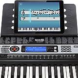 RockJam 54-Key Portable Electronic Keyboard with