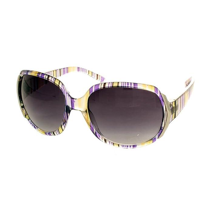 Metal del famoso británico de tamaño maxi gafas de sol de ...