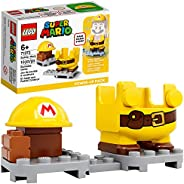 LEGO Super Mario Builder Mario Power-Up Pack 71373 Building Kit, Fun Gift for Kids to Power Up The Mario Figur