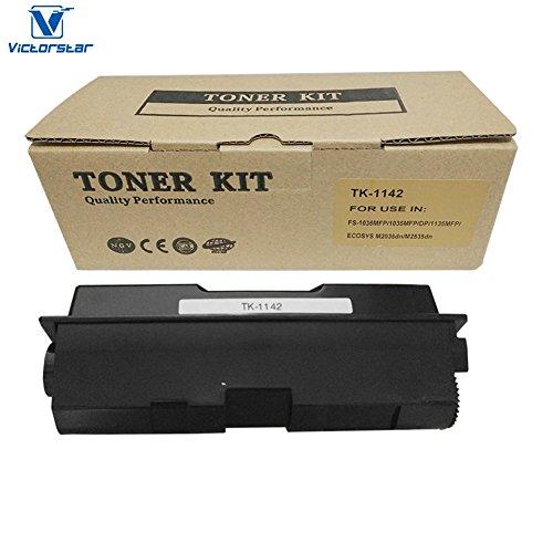VICTORSTAR @ Compatible Toner Cartridge TK1142 for Kyocera-Mita FS-1035MFP/DP/1135MFP/ECOSYS M2035DN/M2535DN Laser Printers, OEM Part Number TK1142 Page Yield 7200