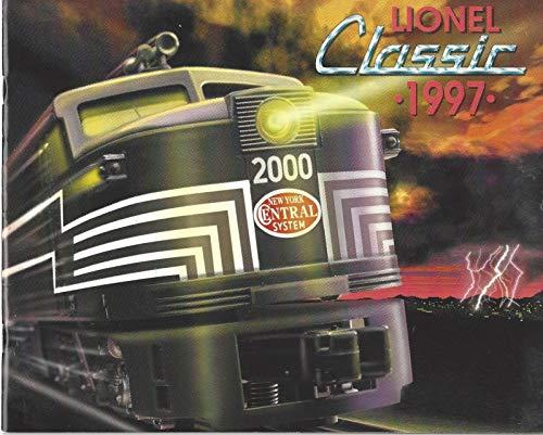 KDA 1997 Lionel Classic Trains - Catalog Classic Lionel