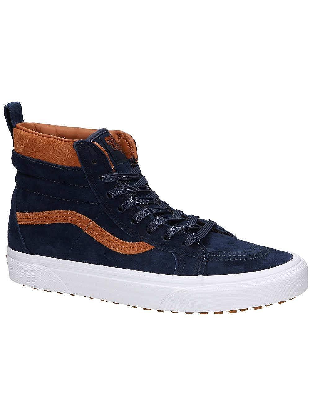 b39ab6b056c3 Amazon.com  Vans Classic SK8-HI MTE Sneaker Skate Leather Winterboots  VN0A33TXUCB Blue  Shoes