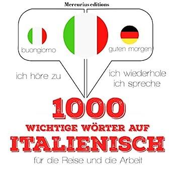 Amazoncom 1000 Wichtige Wörter Auf Italienisch Für Die