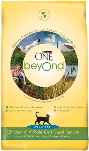 Purina One Beyond Cat Chicken Oatmeal, 6-Pounds, My Pet Supplies