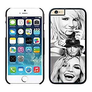 NEW DIY Unique Designed Case For iphone 6 plus Britney Spears 1 iphone 6 plus Black 5.5 TPU inch Phone Case 065