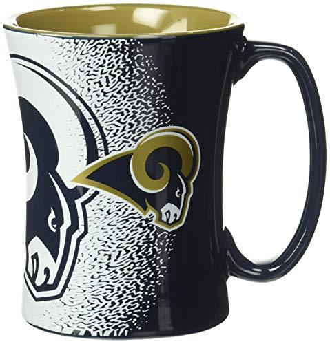 NFL Los Angeles Rams Sculpted Mocha Mug, 14-ounce
