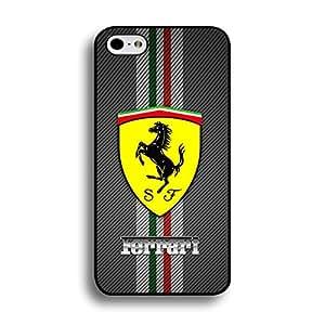 Common Premium Iphone 6 Plus/6s Plus 5.5 Inch Cover Case,Contracted Pattern Ferrari Luxury Flag Cell Phone Case Ferrari Logo