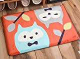 Cartoon animal home carpet pads dry fast mat