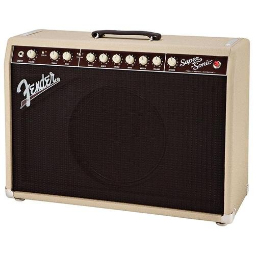 Fender Super-Sonic 22 22-Watt 1x12-Inch Guitar Combo Amp - Blonde by Fender