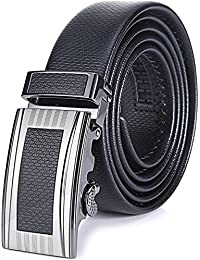 "<span class=""a-offscreen"">[Sponsored]</span>Marino Men's Ultra Soft Leather Ratchet Dress Belt with Automatic Buckle, Enclosed in an Elegant Gift Box"