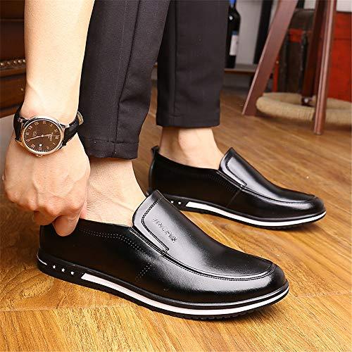 Xujw Business Scarpe cavo Dimensione confortevoli convenzionale 44 New Casual Basse Stringate da 2018 EU shoes Hollow Nero uomo opzionale formali Bianco Oxford Summer Casual Scarpe Color rX1xBCrqn6