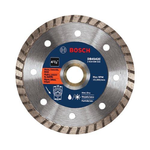 Bosch Abrasive Blade (Bosch DB4542C 4.5-Inch Premium Turbo Diamond)