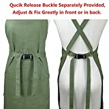 Aiden Brothers Soft Cotton Canvas Apron, Cross Back