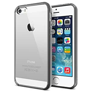 Funda Bumper Spigen SGP Ultra Hybrid Iphone 5 / 5S Color Gris