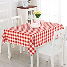 Plaid tablecloth fabric/ picnic blanket/ table-cloth/ outdoor coffee table cloth/Living room dining room table cloth-E 60x60cm(24x24inch)