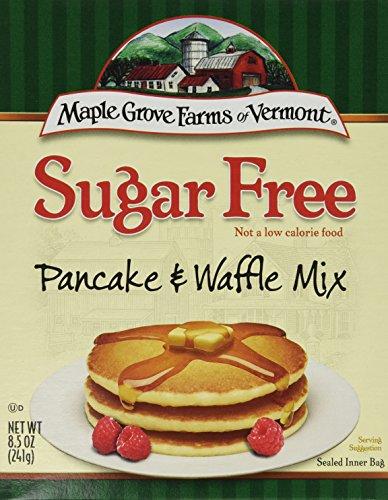 Sugar Free Pancake Mix - Sugar Free Pancake Mix 8.50 Ounces (Case of 8)
