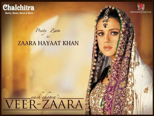 - Veer-Zaara POSTER Movie (11 x 17 Inches - 28cm x 44cm) (2004) (Indian Style A)