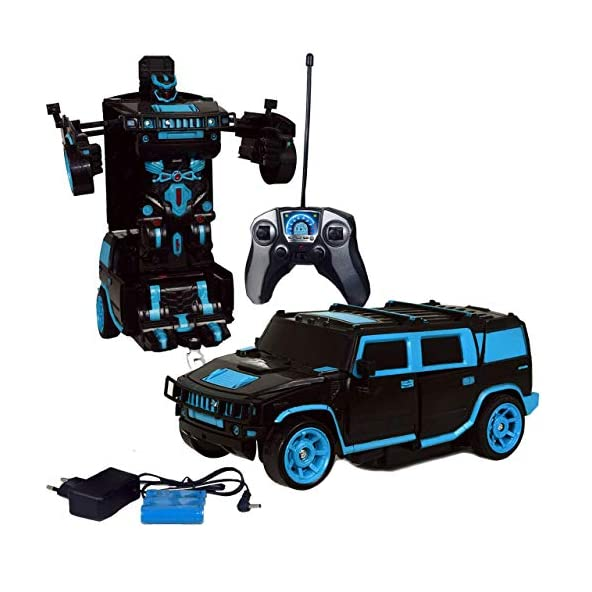 Gooyo Deformation Robot Radio Control Car with Rechargeable Batteries