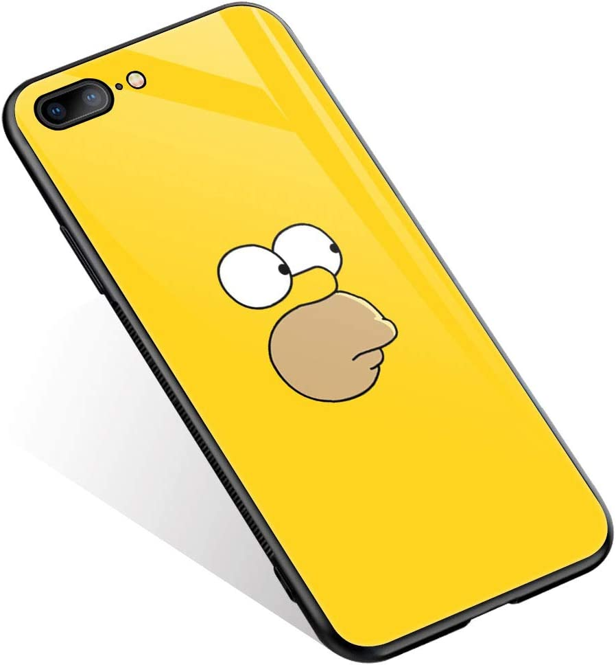 iPhone 8 Case,Animation Cartoon 1218 Pattern Design iPhone 7 Cases iPhone SE 2020 Cases,Tempered Glass Back + Soft Silicone TPU Shock Absorption Bumper Protective Case Compatible for iPhone 8/7/SE2