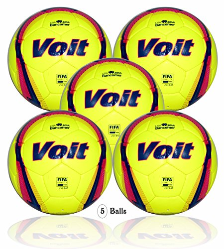 Voit Liga BBVA Bancomer (MX) official match ball (5 balls size 5) FIFA Quality Pro by Voit