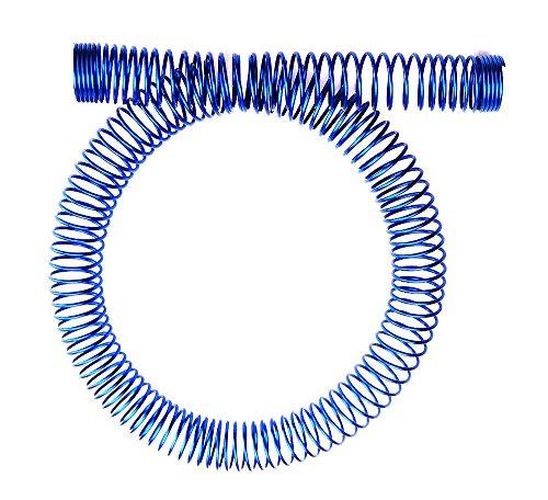 Koolance SPR-10BU Tubing Spring Wrap, Steel Blue for OD 13mm (1/2in)