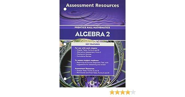 Algebra 2 assessment resources prentice hall mathematics algebra 2 assessment resources prentice hall mathematics 9780130634047 amazon books fandeluxe Image collections