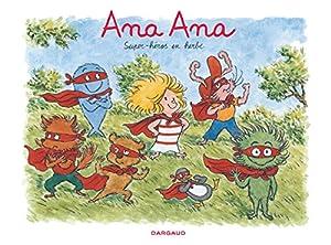 """Afficher """"Ana Ana n° 5<br /> Super-héros en herbe"""""""