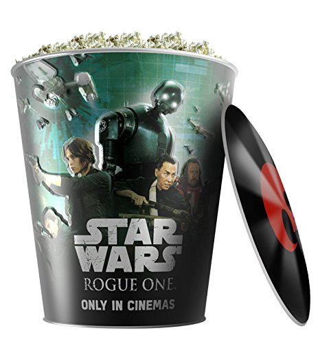 Star Wars: Rogue One Movie Theater Exclusive 130 oz Metal Popcorn Tin W/Lid #3 - Exclusive Tin
